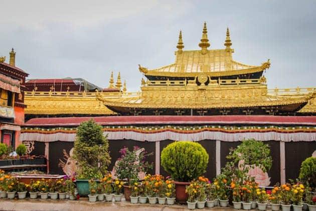 best monasteries in Lhasa Tibet Johkong Temple