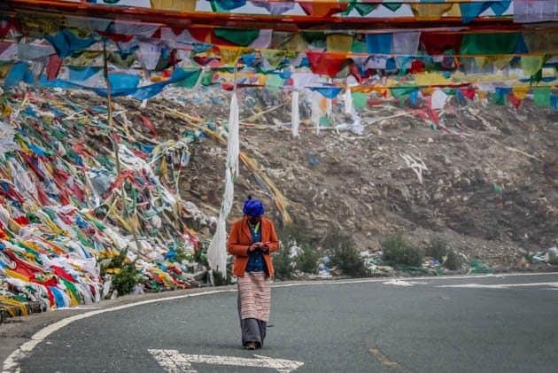 Gampa La Pass Tibet Lhasa to Shigatse