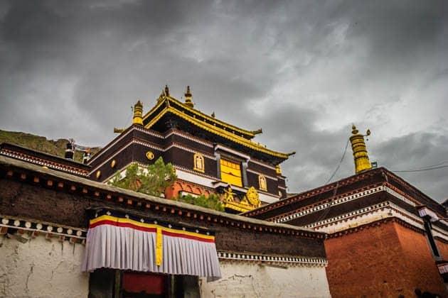Tashilhunpo Monastery Tibet Lhasa to Shigatse