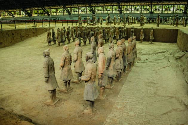 Terracotta Army Warriors China