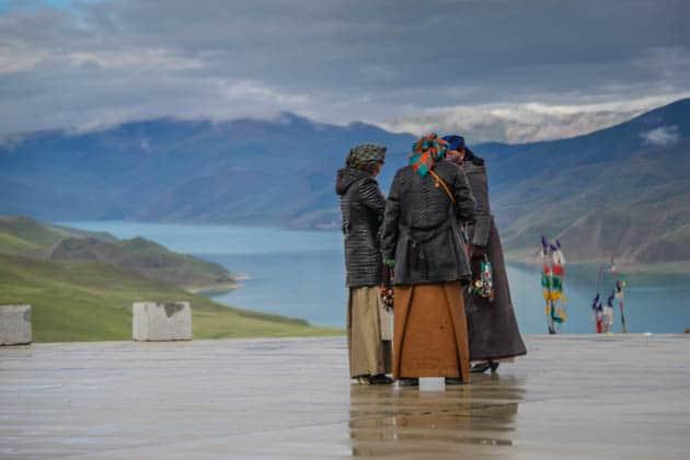 People of Tibet Gampa La Pass