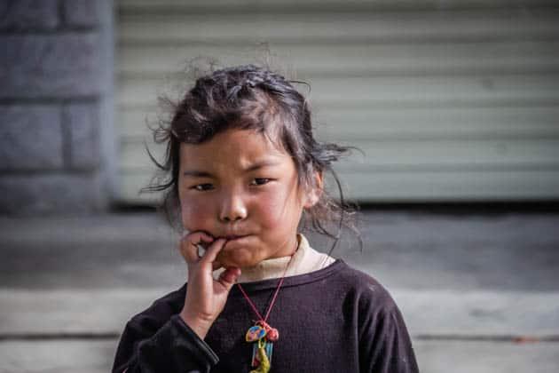 People of Tibet Children