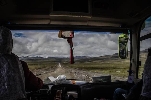 Tibet Transportation Divergent Travelers