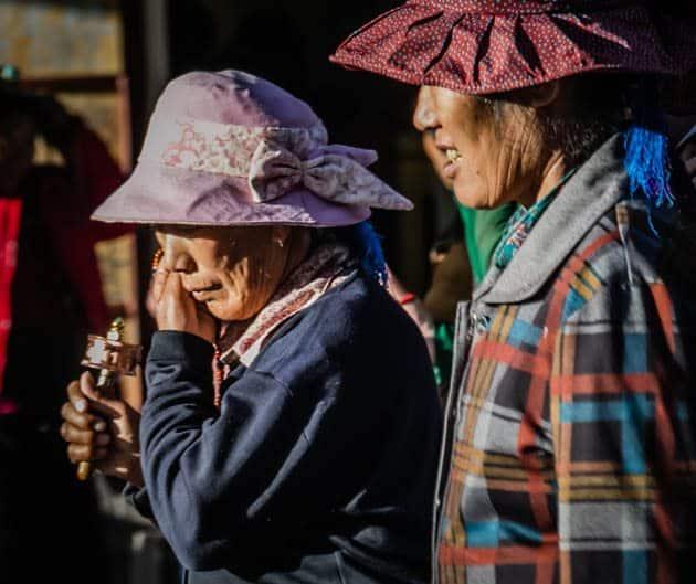 People of Tibet Barkhor Street