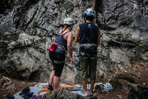 Rock climbing 101 Yangshuo China