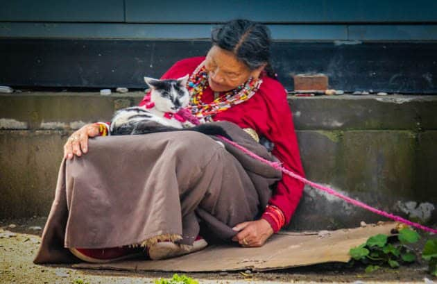 People of Tibet Lhasa