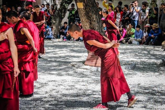 People of Tibet Monks