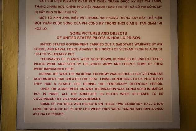 Hanoi Hilton Vietnam War