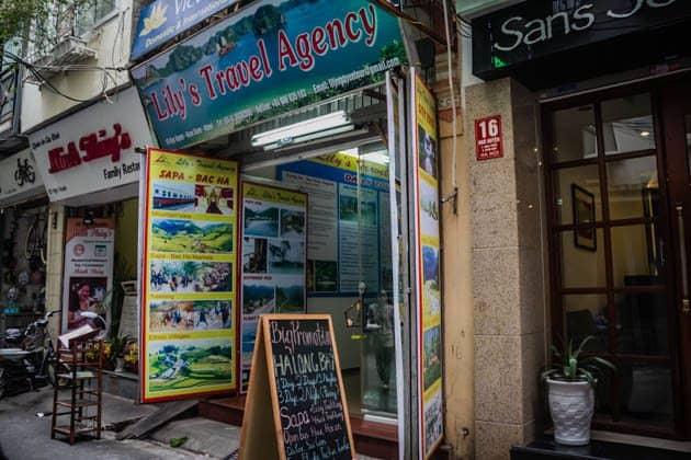 Lilys Travel Agency Hanoi Vietnam