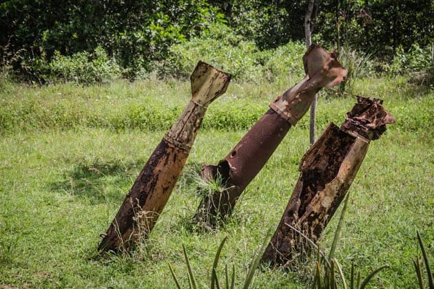 Bombs DMZ Vietnam War