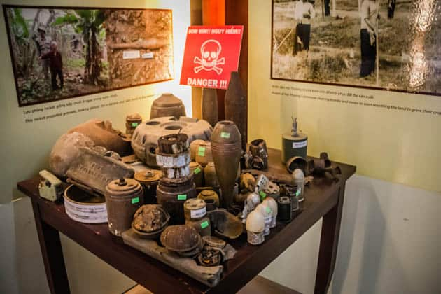 Mine Museum DMZ Vietnam War