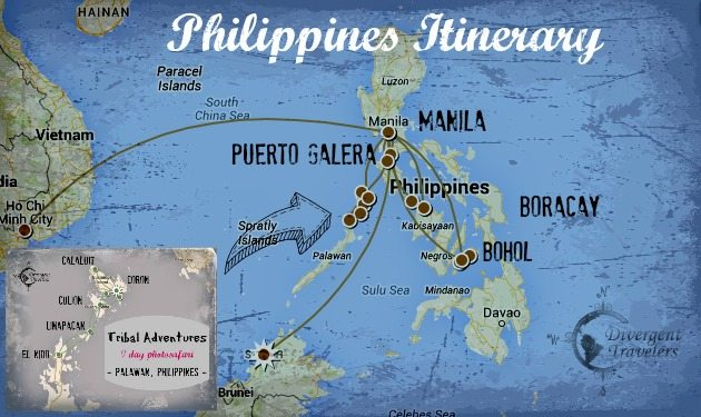 Philippines Itinerary Divergent Travelers RTW Recap