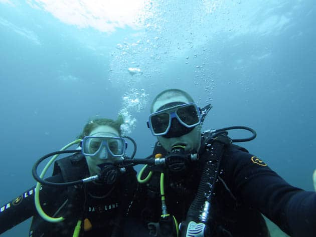 PADI Advanced Open Water Divergent Travelers
