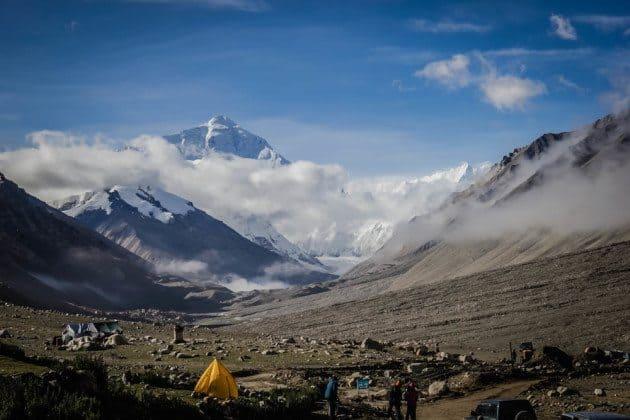 North Mount Everest Base Camp Tibet