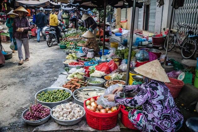 Mekong Delta Market Vietnam