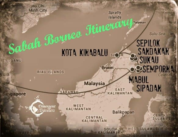 RTW Travel Recap Sabah Borneo Itinerary Divergent Travelers