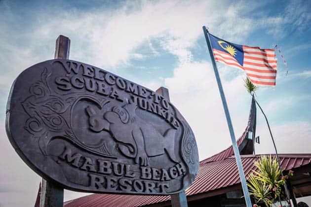 Scuba Junkie Mabul Sabah Borneo RTW Recapp