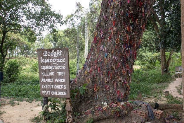 Choeung Ek Killing Field Cambodia