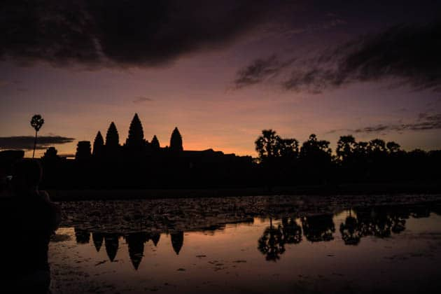 Sunrise Angkor Wat Divergent Travelers