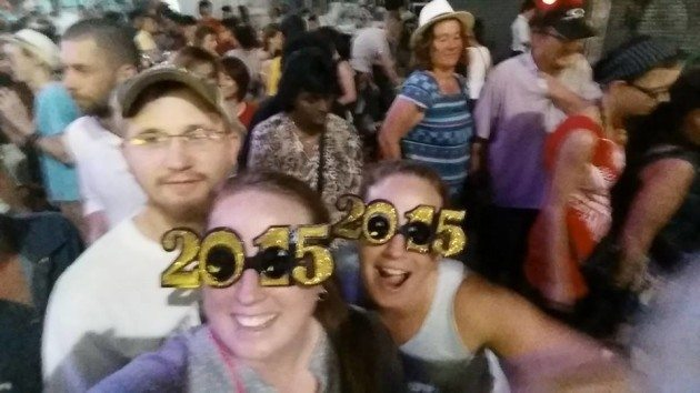 Khao San Road New years Eve 2015 Divergent travelers