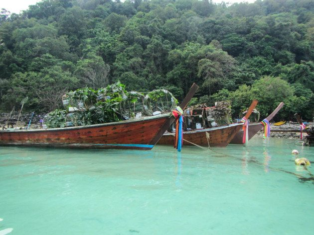 Fishing Villages Self Guided Kayak Tour of Phi Phi islands