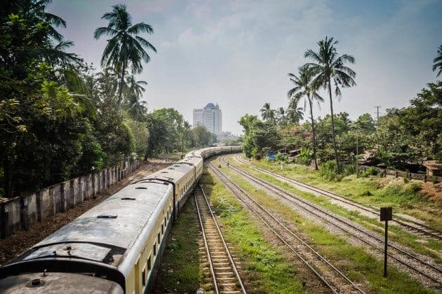 Yangon Circle Train Myanmar