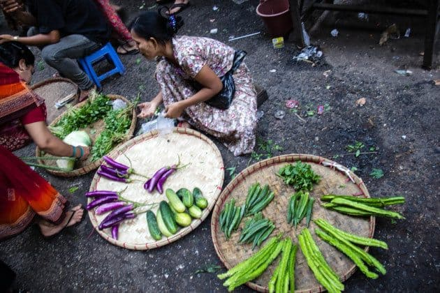Yangon Street Market Urban Adventures