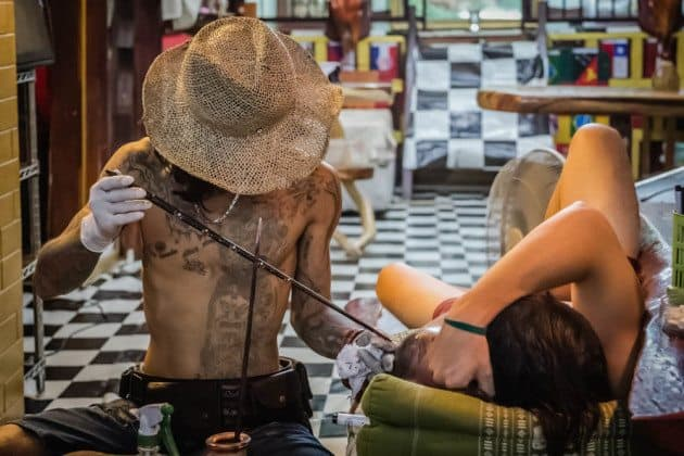 Bamboo Tattoo Thailand