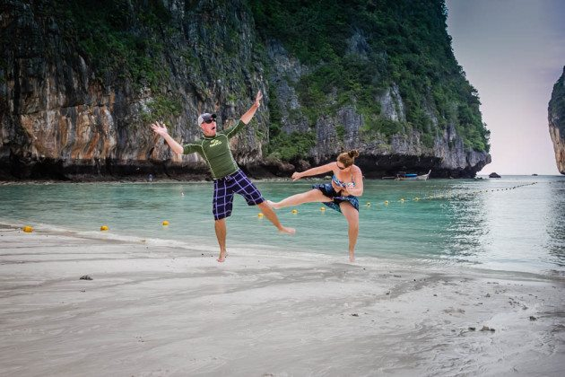 Divergent Travelers Maya Bay Thailand