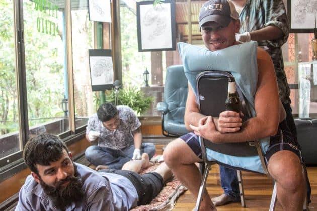 Bamboo Tattoos Thailand Divergent Travelers