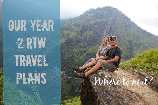 Year 2 RTW Travel Plans Divergent Travelers