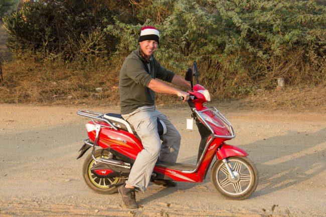 Bagan by E-Bike