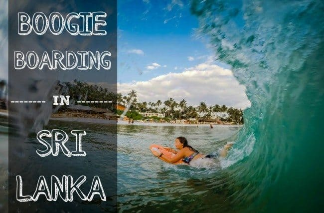 Boogie Boarding in Sri LankaMirissa Beach