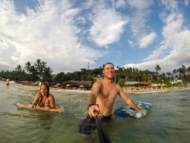 Boogie Boarding in Sri Lanka Divergent Travelers