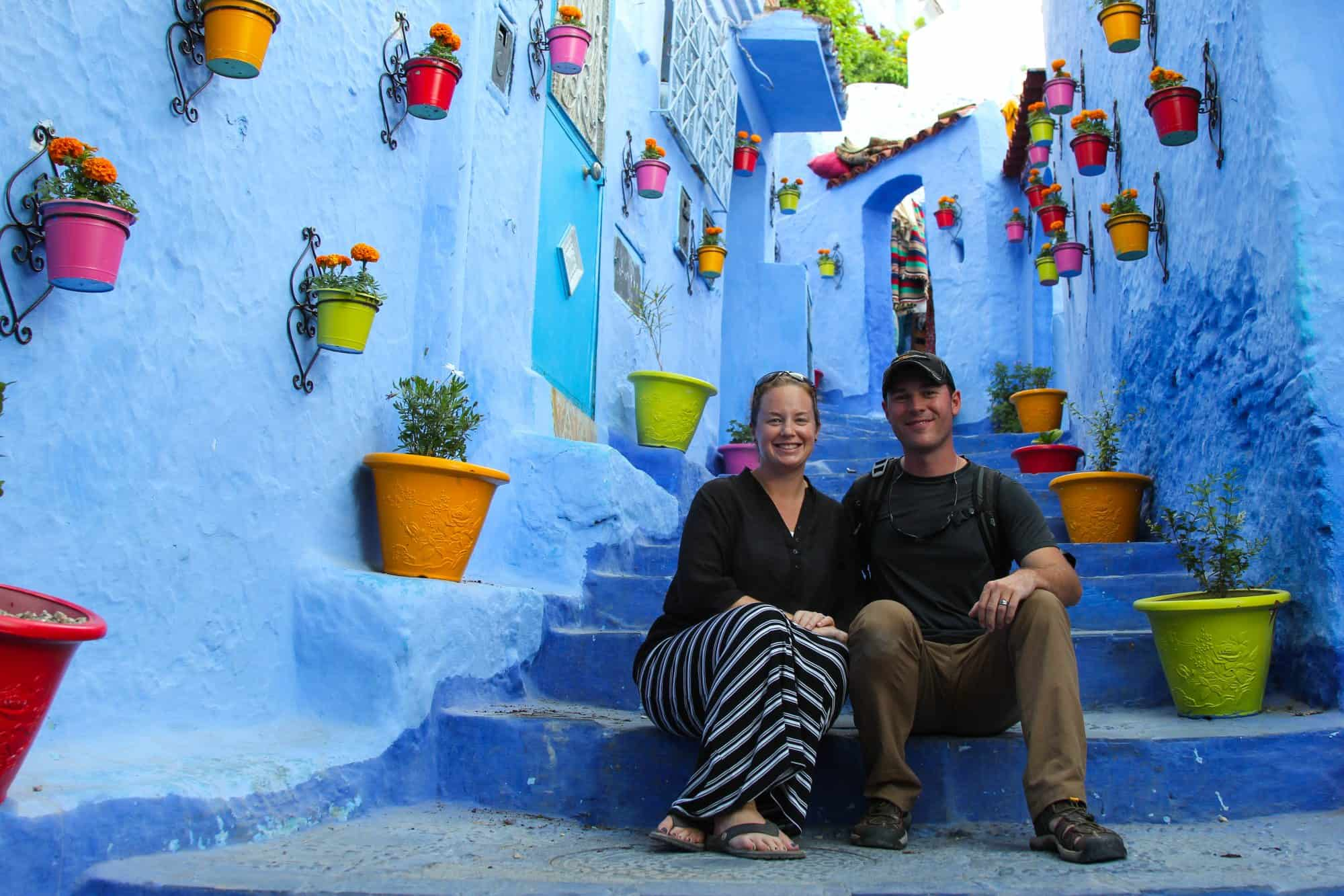 Divergent Travelers Chefchaouen Morocco Blue City