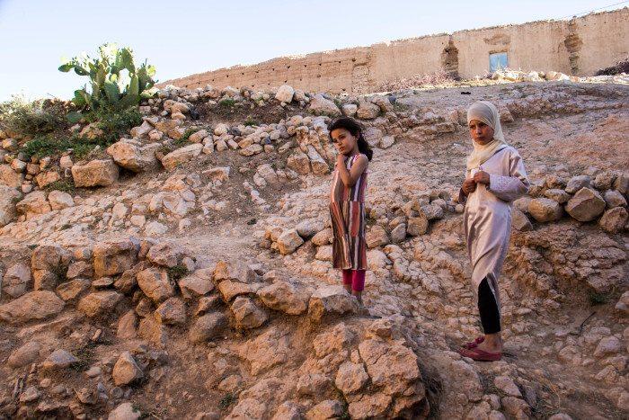 Hiking Midelt Morocco Berber Children