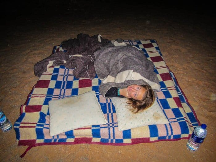 Camping in the Sahara Deset Morocco Divergent Travelers