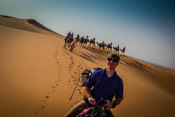 Sahara Desert Merzouga Morocco Divergent Travelers
