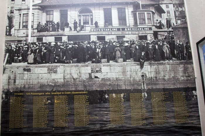 White Star Line Titanic Cobh Ireland