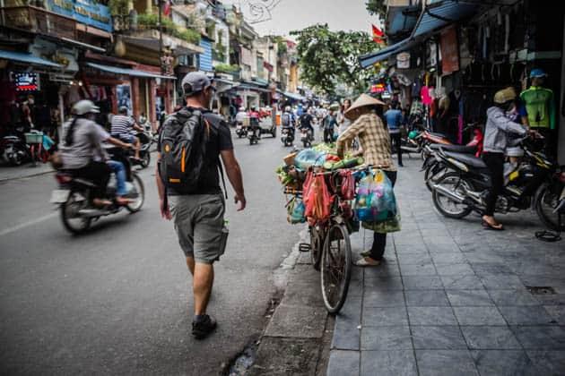 Hanoi Vietnam Old Quarter