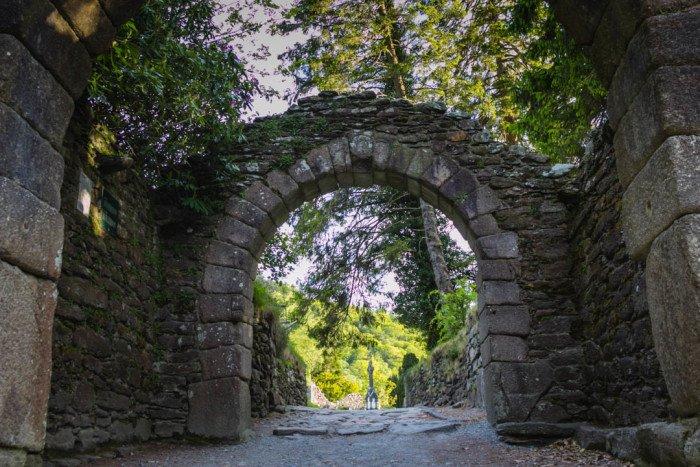 Glendalough Arches Ireland
