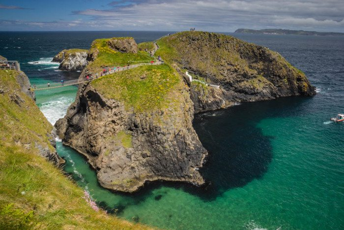 Carrick A Rede Rope Bridge Causeway Coast Ireland
