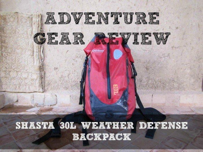 Shasta Weather Defense Backpack Divergent Travelers