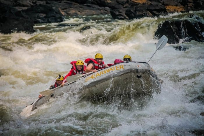 Whitewater Rafting Zambezi River - Things to do in Victoria Falls