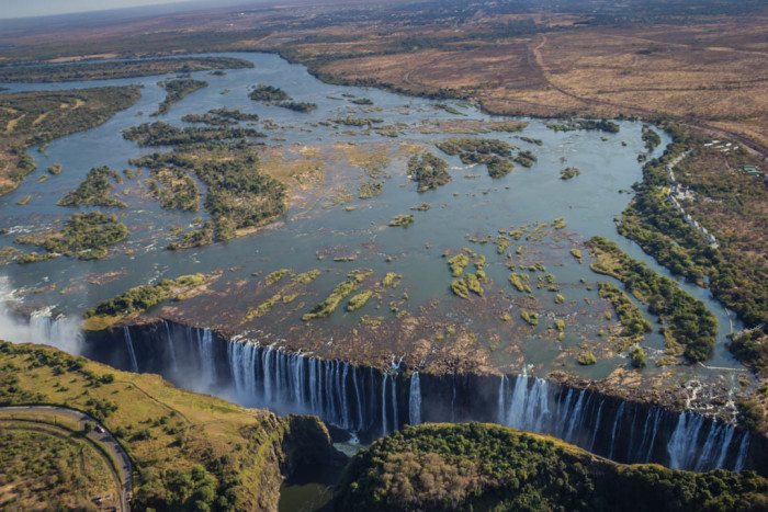 Victoria Falls Helicopter Flight Zimbabwe