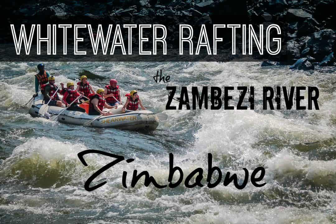 White Water Rafting The Zambezi River In Zimbabwe