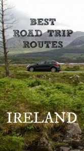 The best road trip routes in Ireland Pinterest Pin