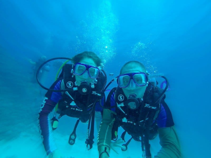 travel insurance scuba diving