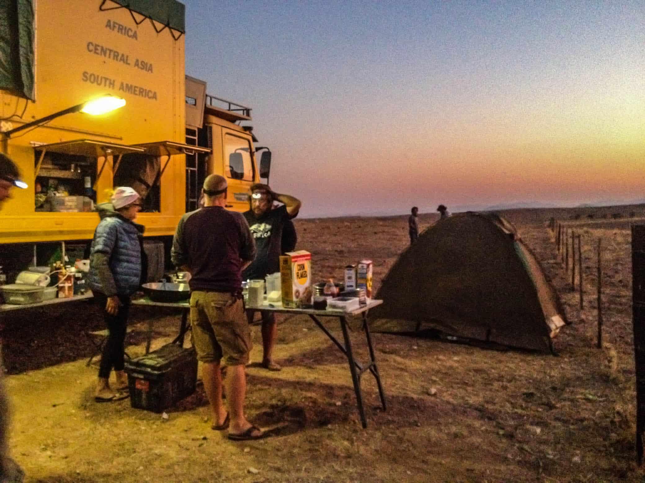 Overland through Africa