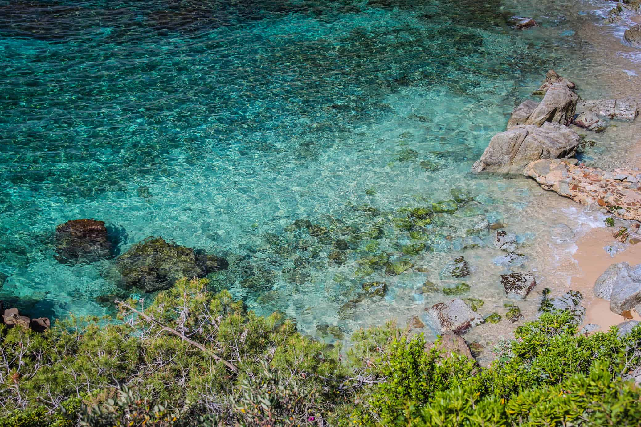 Mediterranian Sea Costa Brava Spain